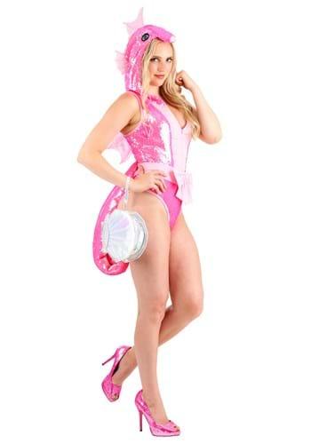 Women's Sequined Seahorse Costume