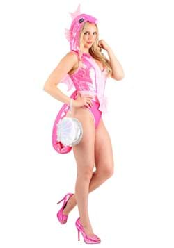 Women's Sequined Seahorse Costume