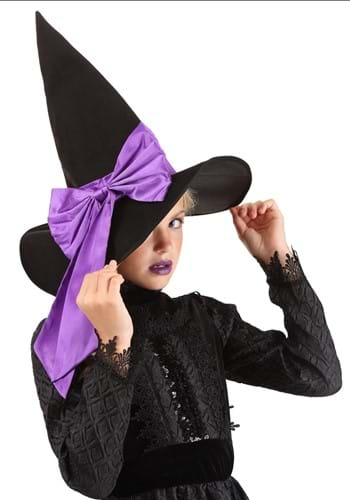 Kids Custom Color Witch Hat