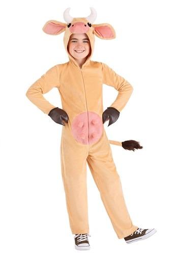 Kid's Brown Cow Costume