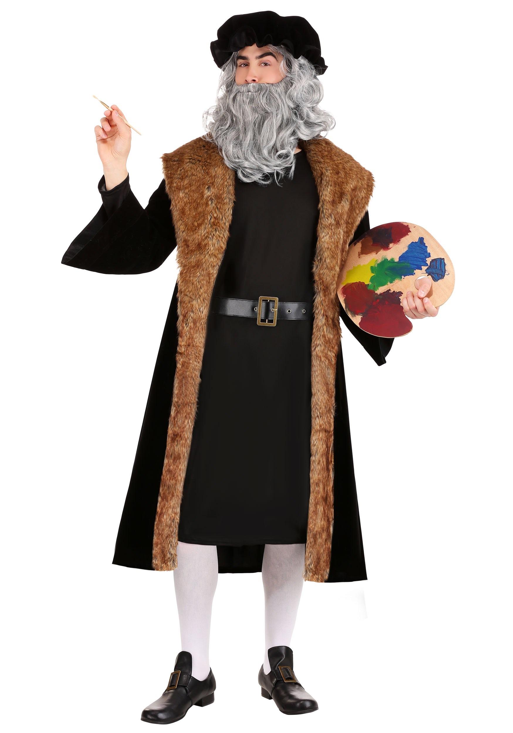Leonardo Da Vinci Men S Costume
