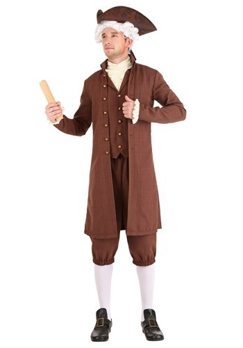 Men's John Adams Costume