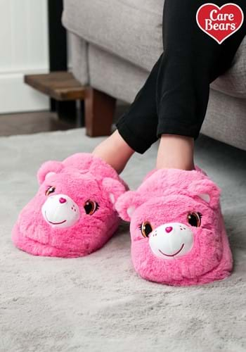 Cheer Bear Care Bears Slippers for Adults