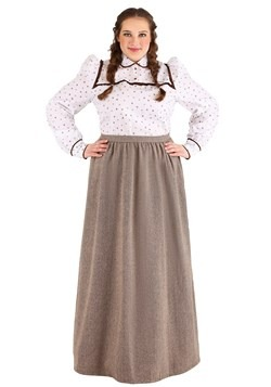 Plus Size Women's Westward Pioneer Costume