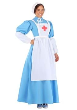 Women's Clara Barton Costume Main