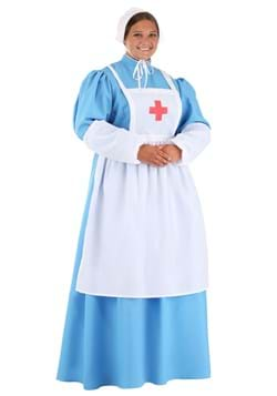 Plus Size Women's Clara Barton Costume Main