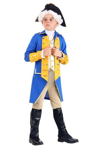 Kid's General Washington Costume Main