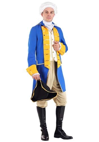 Men's General George Washington Costume Main