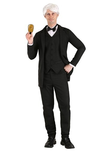 Thomas Edison Mens Costume 1