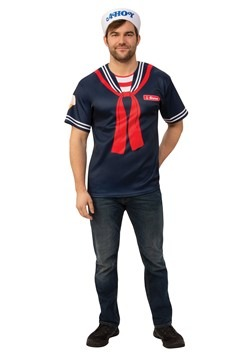 Stranger Things Steve Scoops Ahoy Adult Costume