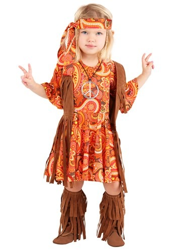 Toddler Fringe Hippie Costume