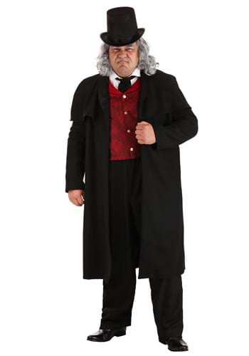 Plus Size Ebenezer Scrooge Costume