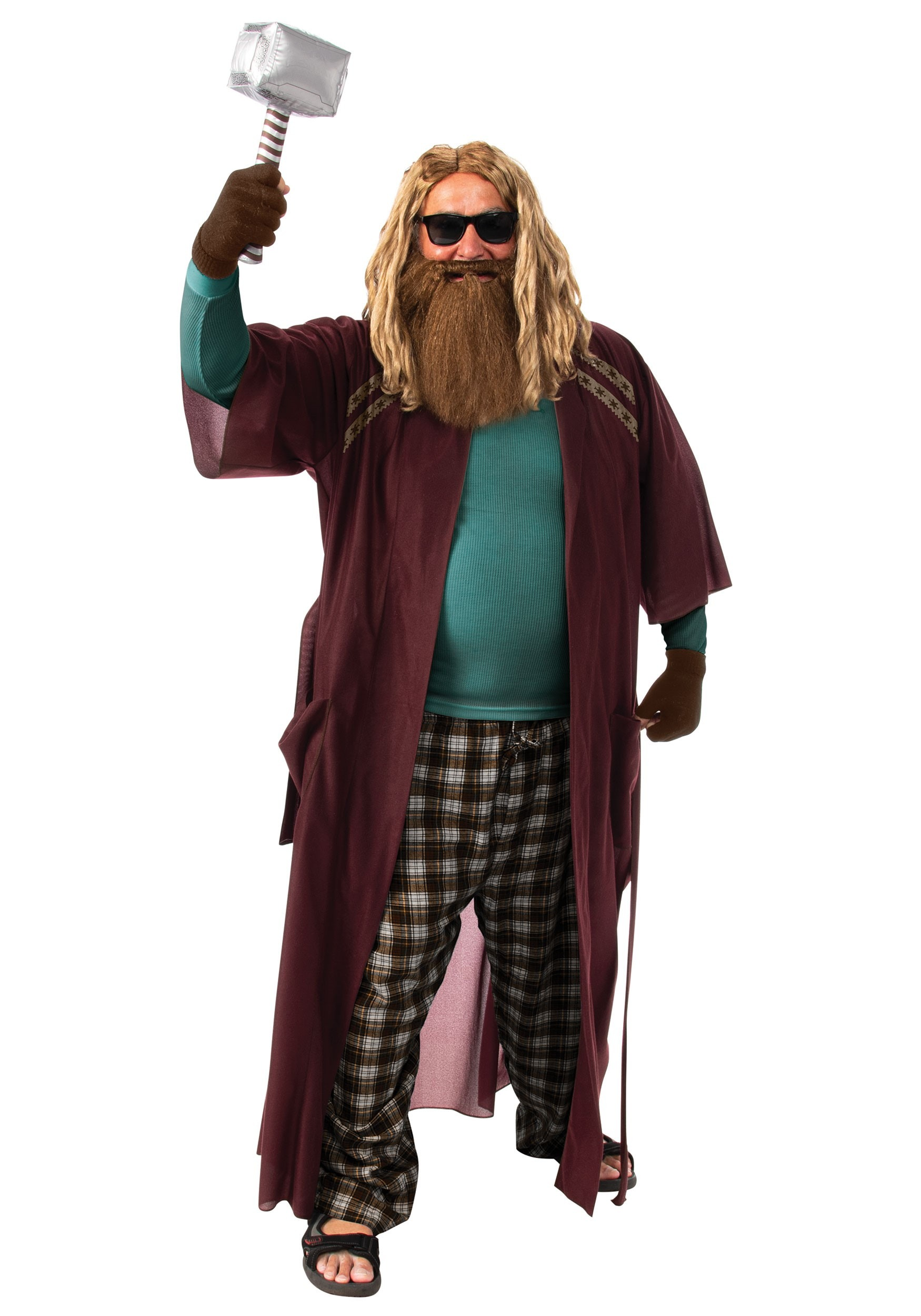 Marvel Avengers End Game Thor Adult Robe Costume