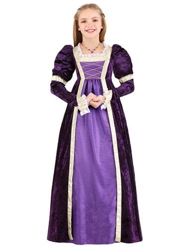 Kid's Amethyst Princess Costume Main