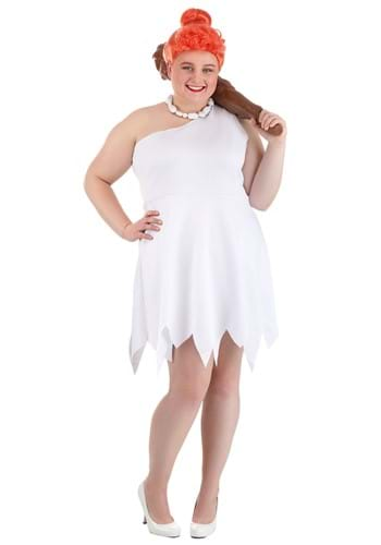 Plus Size Classic Flintstones Wilma Costume2