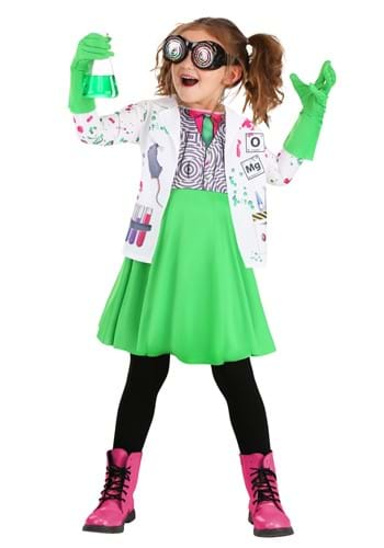Toddler Mad Scientist Costume