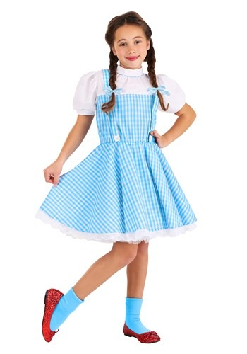 Classic Dorothy Wizard of Oz Costume for Kids