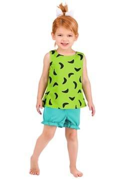 Toddlers Classic Flintstones Pebbles Costume