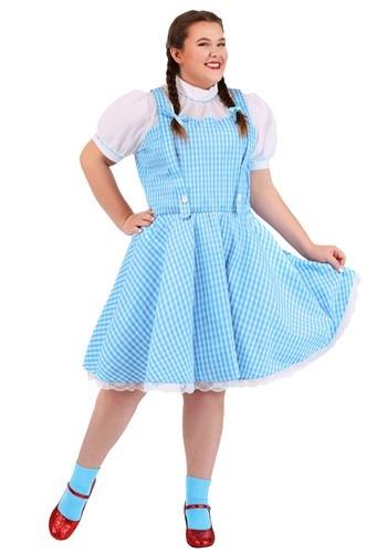 Plus Size Wizard of Oz Dorothy Costume