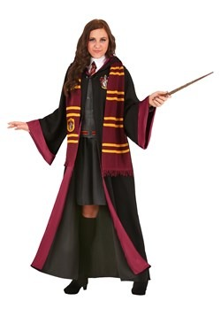 Deluxe Plus Size Harry Potter Hermione Costume