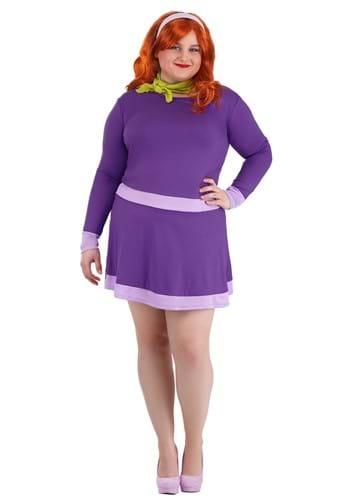Women's Plus Size Scooby Doo Daphne Costume Update 1