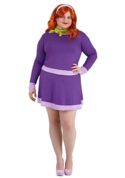 Women's Plus Size Scooby Doo Daphne Costume