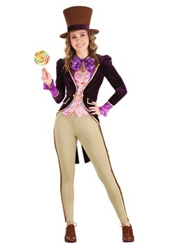 Women Candy Inventor Costume