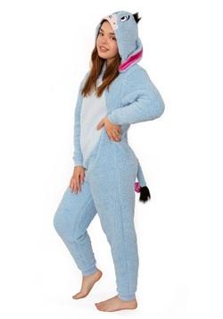 Winnie the Pooh Womens Eeyore Union Suit Costume