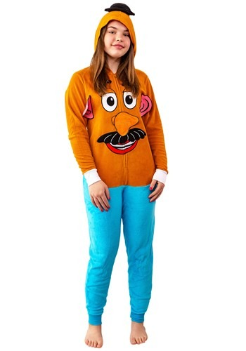 Toy Story Womens Mr. Potato Head Union Suit Costume
