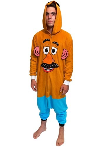 Toy Story Adult Mr. Potato Head Union Suit Costume