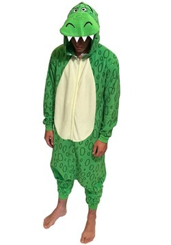 Toy Story Adult Rex Union Suit Costume