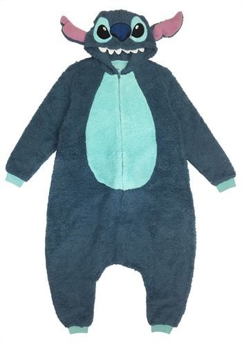 Lilo & Stitch Adult Stich Kigarumi Costume