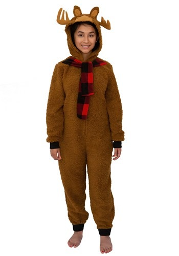 Moose Womens Union Suit Costume