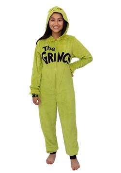 Dr. Seuss The Grinch Union Suit Costume for Women