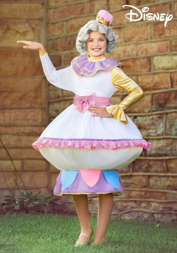 Kids Beauty and the Beast Mrs. Potts Costume-2