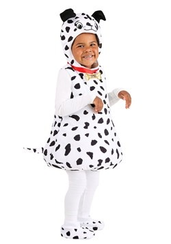Toddler's Dotty Dalmatian Bubble Costume