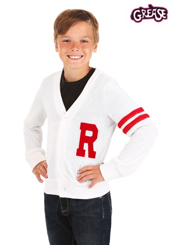 Deluxe Grease Rydell High Kids Letterman Sweater