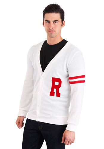 Deluxe Grease Rydell High Mens Plus Size Letterman Sweater