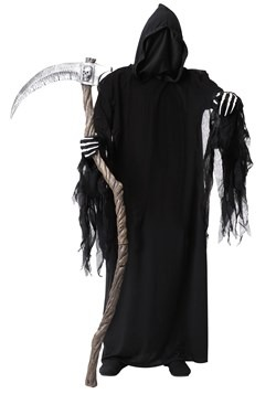 Adult's Plus Size Dark Reaper Costume Main