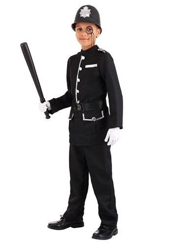 Kid's British Bobby Costume Main