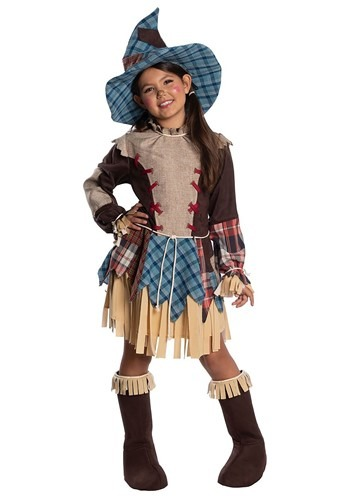 Patchwork Girls Scarecrow Costume