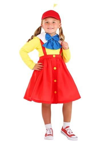 Toddler Tweedle Dee Dum Dress Costume