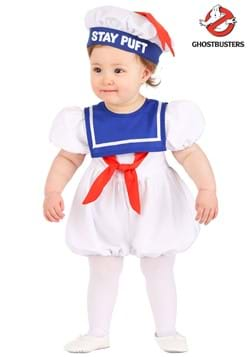Infant Ghostbusters Stay Puft Bubble Costume Main