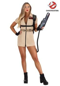 Womens Ghostbusters Shirt Dress Costume-updated