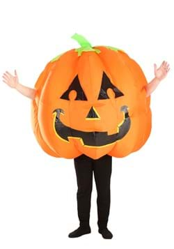 Grinning Inflatable Pumpkin Costume for Adults