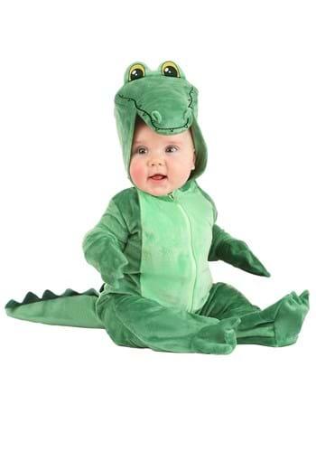 Infant's Adorable Alligator Costume