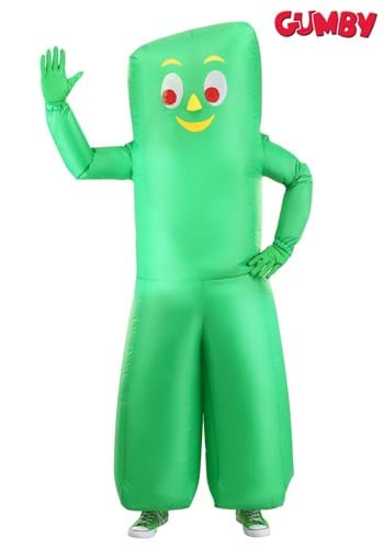 Adult Inflatable Gumby Costume