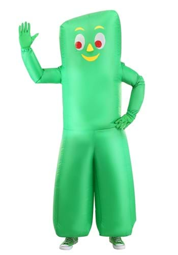 Gumby Costume Inflatable Adult