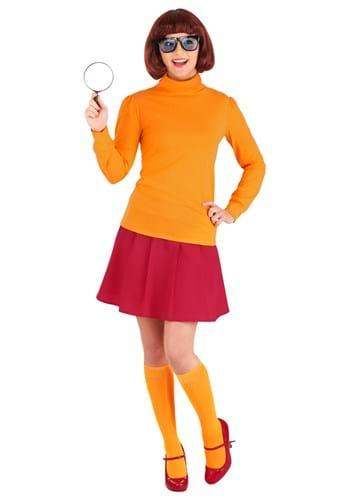 Plus Size Classic Scooby Doo Velma Costume Update
