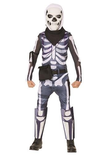 Kids Fortnite Skull Trooper Costume